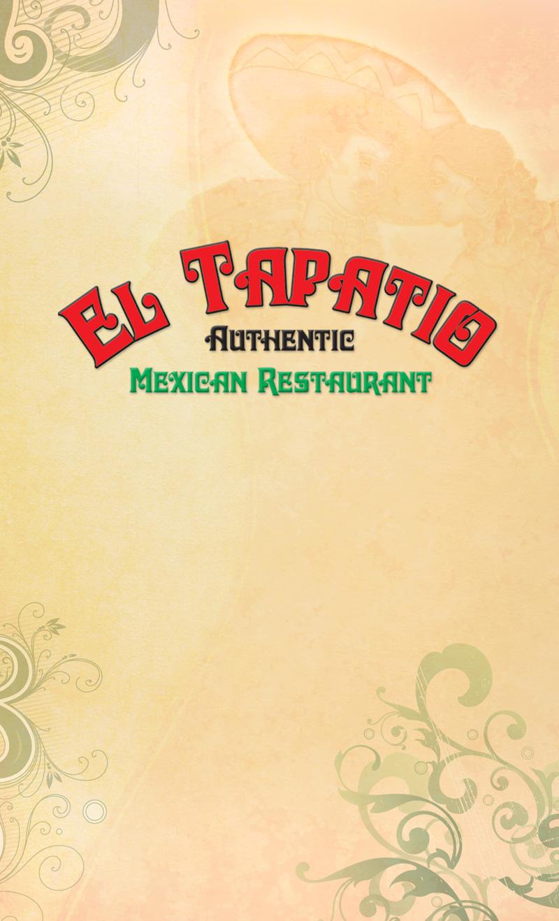 el tapatio mexican - menu - park hills, mo